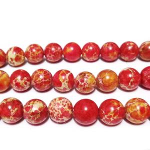 Regalite colorat rosu, 8mm 1 buc