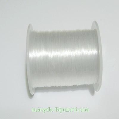 Fir nylon transparent 0.2 mm - bobina 80 m 1 buc