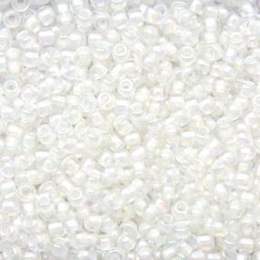 Margele TOHO - rotunde 11/0 :  Inside-Color Rainbow Crystal/Creme-Lined 20 g