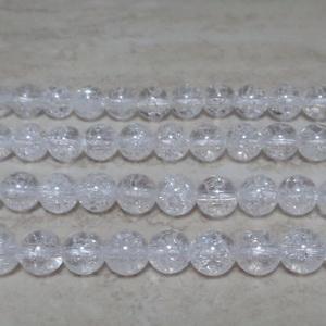 Cristal de gheata, sferic, 6.6mm 1 buc