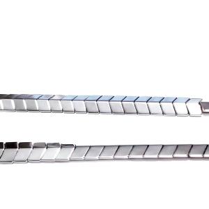 Hematite nemagnetice, placate argintii, sageata 5x6x3mm 1 buc