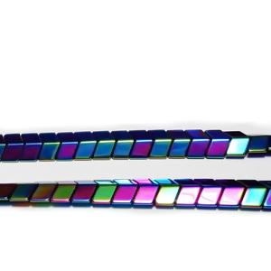 Hematite nemagnetice, placate multicolor, sageata 5x6x3mm 1 buc