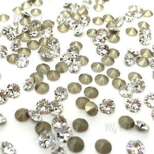 Swarovski Elements, Xirius Chaton 1088 PP10, Crystal 1.6mm 10 buc