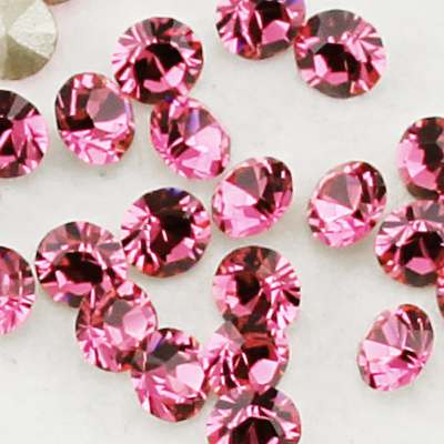 Swarovski Elements, Xirius Chaton 1088 PP10, Rose 1.6mm 10 buc