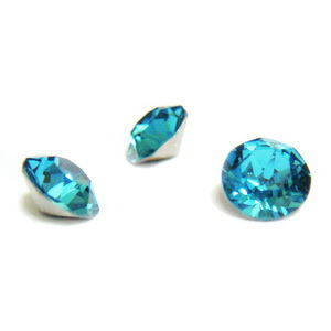 Swarovski Elements, Xirius Chaton 1088 PP14, Indicolite 2mm 10 buc
