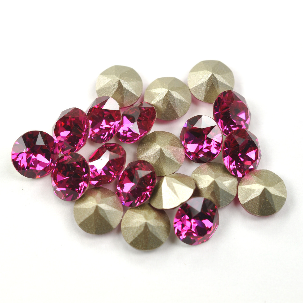 Swarovski Elements, Xirius Chaton 1088 PP14, Fuchsia 2mm 10 buc
