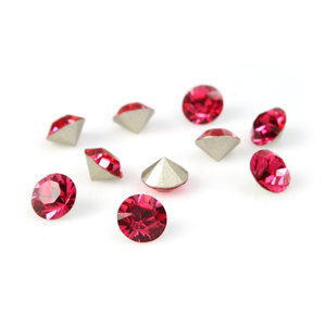 Swarovski Elements, Xirius Chaton 1088 PP21, Indian Pink 2.8mm 10 buc