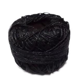 Fir bumbac rasucit, negru, 0.5mm, bobina cca 315 metri 1 buc