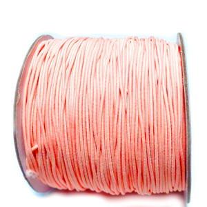 Ata elastica roz somon, 1mm 1 m