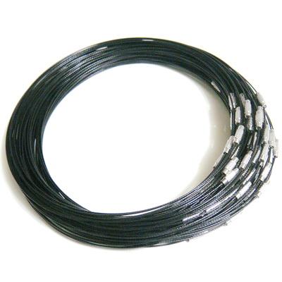 Baza colier neagra cu inchizatoare 1 buc