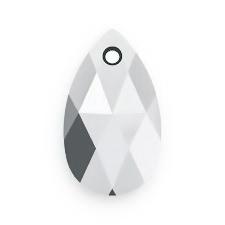 Swarovski Elements, Pear 6106 LIGHT CHROME, 16mm  1 buc