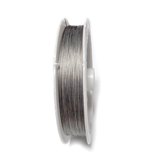 Sarma siliconata gri-argintiu, 0.3mm-rola cca 70m 1 buc