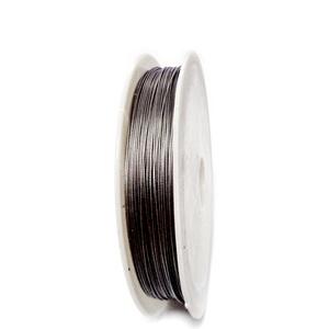 Sarma siliconata gri, 0.45 mm-rola aprox 50m 1 buc