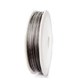 Sarma siliconata gri, 0.60 mm-rola aprox 40m 1 buc