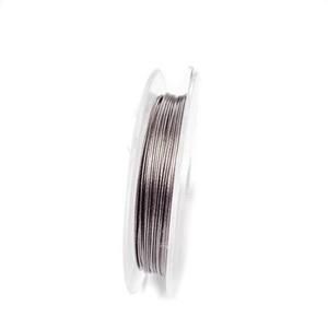 Sarma siliconata maro inchis, 0.38 mm-rola aprox 10m 1 buc