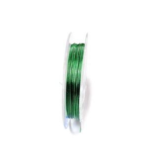 Sarma siliconata verde, 0.45 mm-rola aprox 10m 1 buc
