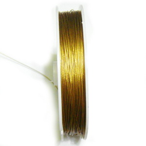 Sarma siliconata aurie, 0.45 mm-rola aprox 50m 1 buc