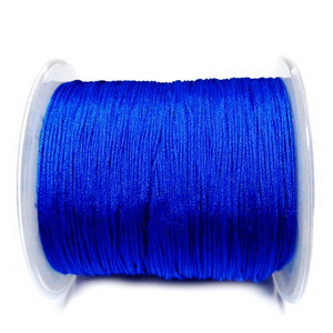 Snur Shamballa, Dandelion, albastru cobalt, grosime 0.5mm 1 m
