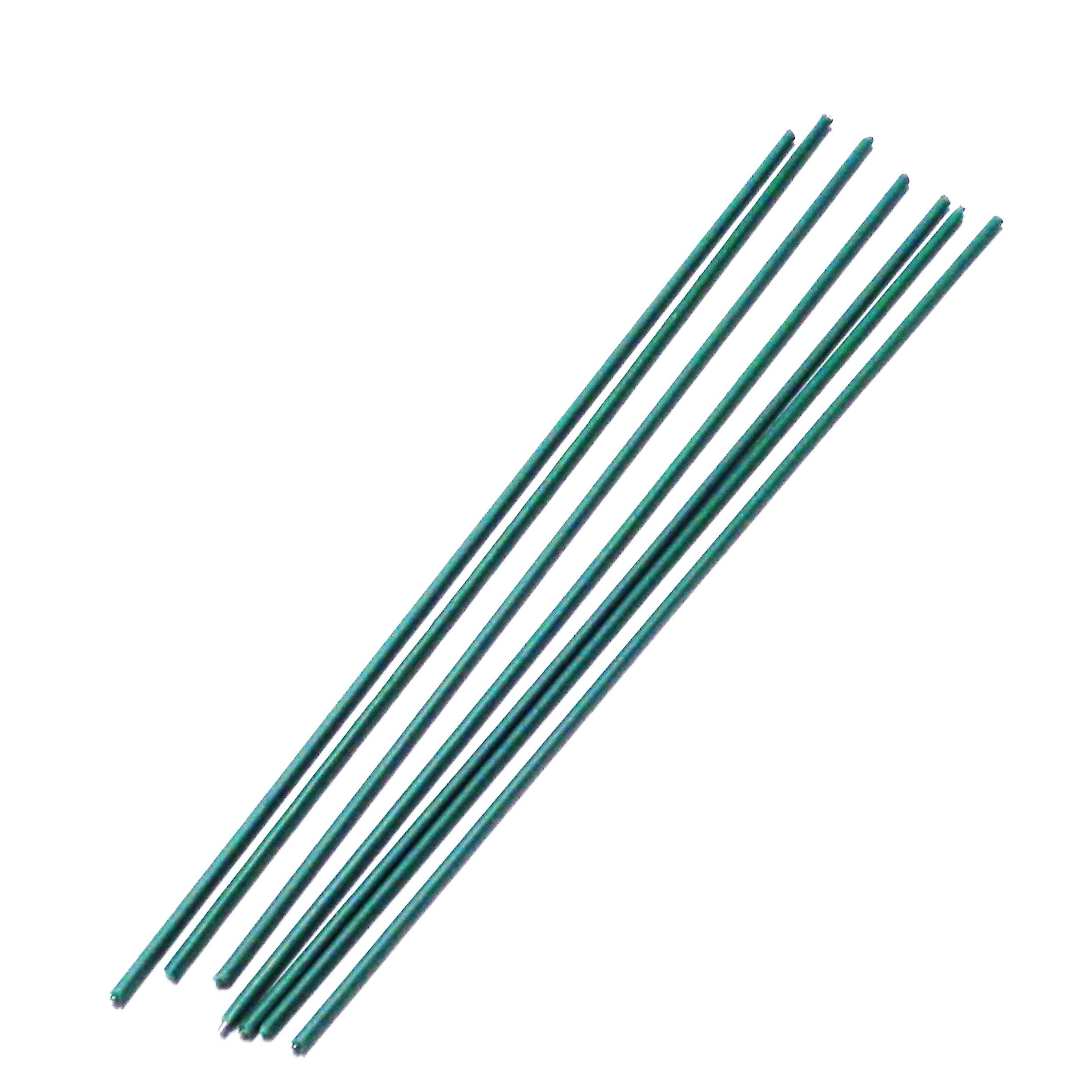 Sarma flori in nylon verde-20 cm 1 buc