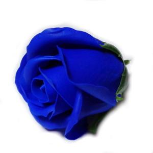 Trandafiri sapun,albastru cobalt, 5cm 1 buc