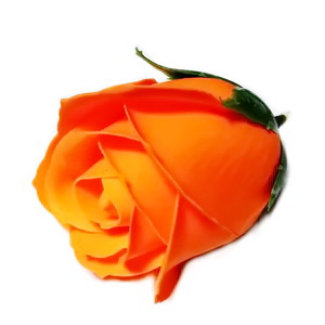 Trandafiri sapun portocalii, 5cm 1 buc