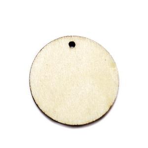 Pandantiv lemn, 25x2mm 1 buc