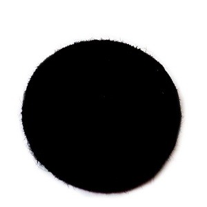 Fetru negru, rotund, 22x3mm 1 buc