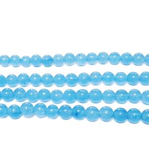 Jad culoare aquamarine, 4mm 1 buc