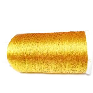 Ata polyester auriu metalizat, 0.2 mm-mosor cca 1200 metri 1 buc