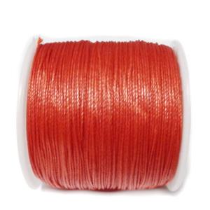Snur Shamballa, rosu inchis, grosime 0.5mm 1 m