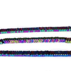 Hematite placate multicolor, sageata 3.2x2mm 1 buc