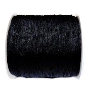 Snur Shamballa, negru, grosime 0.45mm 1 m