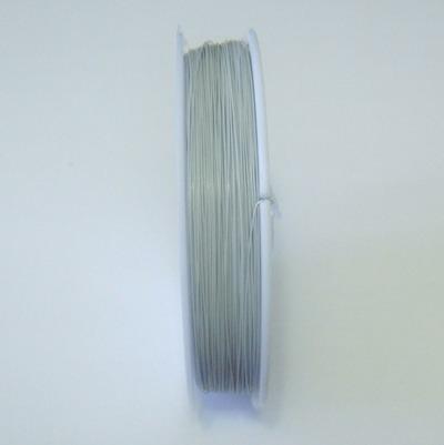 Sarma siliconata gri 0.38 mm 5 m