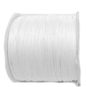 Snur Shamballa, alb, grosime 0.45mm 1 m