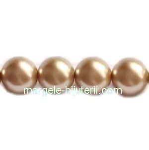 Perle Preciosa Gold 8mm 1 buc