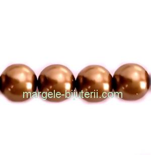 Perle Preciosa Bronze 10mm 1 buc