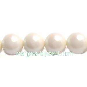 Perle Preciosa Pearlescent Cream 10mm 1 buc