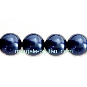 Perle Preciosa Blue 12mm 1 buc