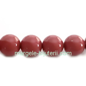 Perle Preciosa Cranberry 12mm 1 buc