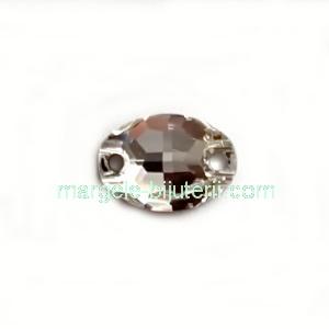 Link Preciosa oval Crystal 10x7mm 1 buc