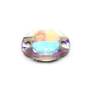 Link Preciosa oval Crystal AB 16x11mm 1 buc