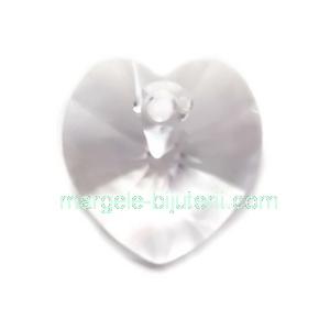 Pandantiv Preciosa inima Crystal 10mm 1 buc
