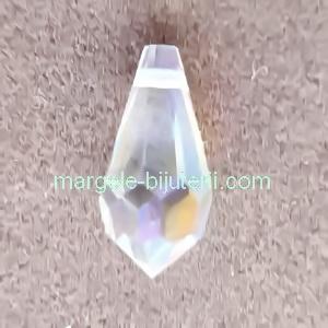 Pandantiv Preciosa 984 Crystal AB 6.5x13mm 1 buc
