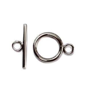Inchizatoare otel inoxidabil 304, inel 19x14x2mm, tija 20x2mm 1 set