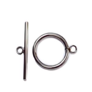 Inchizatoare otel inoxidabil 304, inel 27x22x2.5mm, tija 35x2.5mm 1 buc