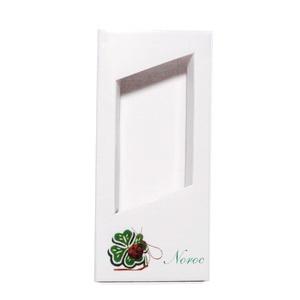 Cutie carton martisor, cu desen gargarita si trifoi, 110x50x10 mm 10 buc