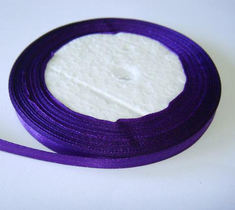 Saten violet 7 mm 1 rola 25 m