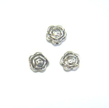 Distantier tibetan trandafir, 7x4 mm 1 buc
