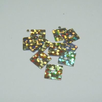 Paiete argintii patrate 7x7mm - 100 buc 2 g