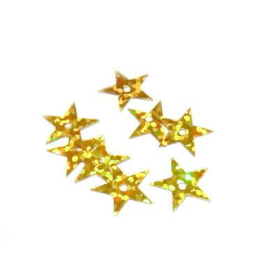 Paiete aurii stelute 13mm - cca 100 buc 2 g